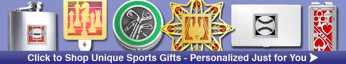 Shop Personalized Sports Gifts at Kyle Design