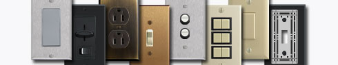 Buy Light Switch Covers, Electrical Outlets and Switches at Kyle Switch Plates