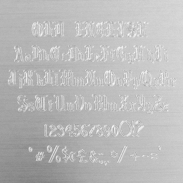 Engraver Choose Font X